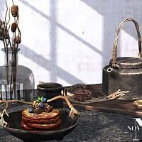 Rustic Breakfast Sims 4