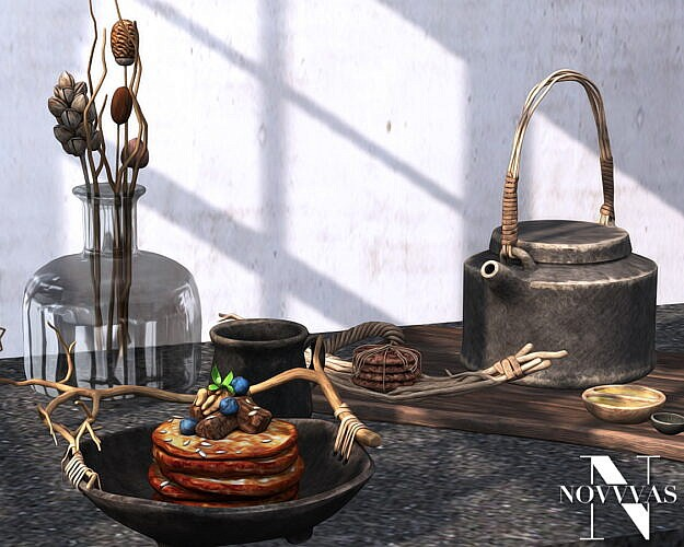 Rustic Breakfast Sims 4