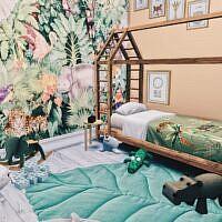 Safari Sims 4 Kidsroom