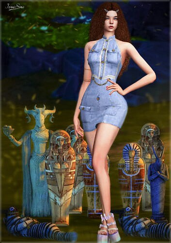 Sculpture Sims 4 Statues 5 Items