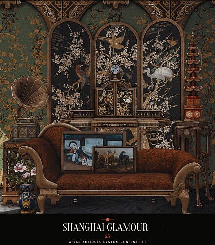 Sims 4 Cc Pack Shanghai Glamour
