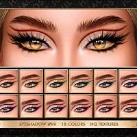 Sims 4 Eyeshadow 99