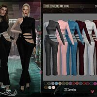 Sims 4 Outfit Ametrine