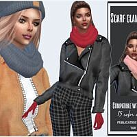 Scarf Clamp Sims 4