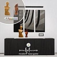Sculpture Sims 4 Recolors