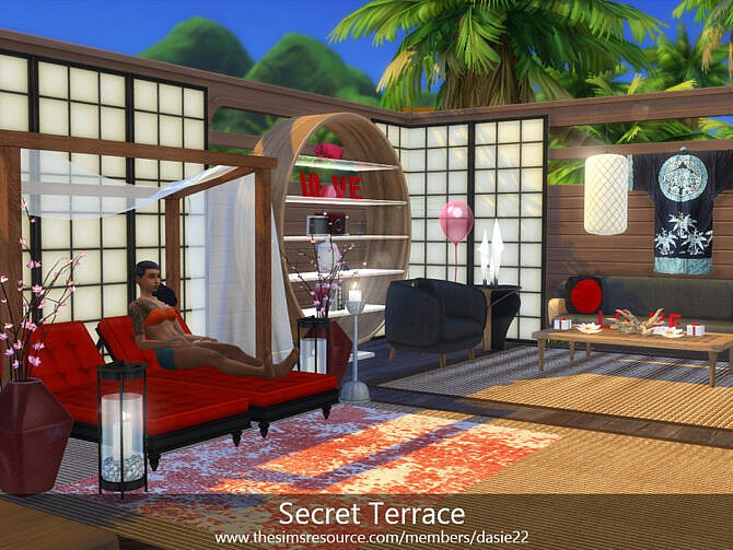 Sims 4 Secret Terrace by dasie2 at TSR