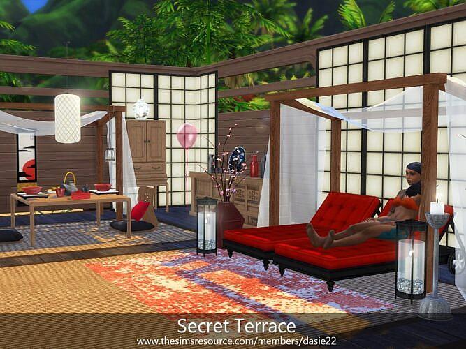 Secret Sims 4 Terrace