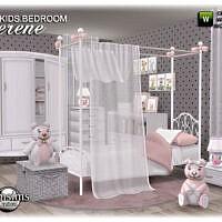 Serene Sims 4 Kids Bedroom