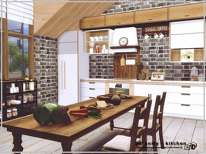 Serenity Sims 4 Kitchen