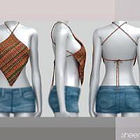 Sheera Knit Sims 4 Top