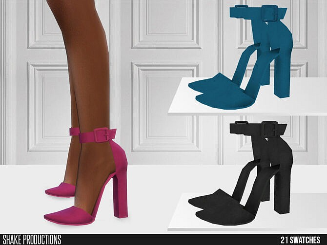 Sims 4 High Heels 627 by ShakeProductions at TSR