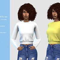 Short Sims 4 Sweatshirt N103