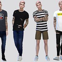 Shortsleeve Sims 4 Tees