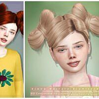 Siena Sims 4 Hair For Kids