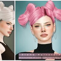 Siena Sims 4 Hairstyle