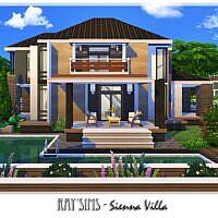Sienna Sims 4 Villa