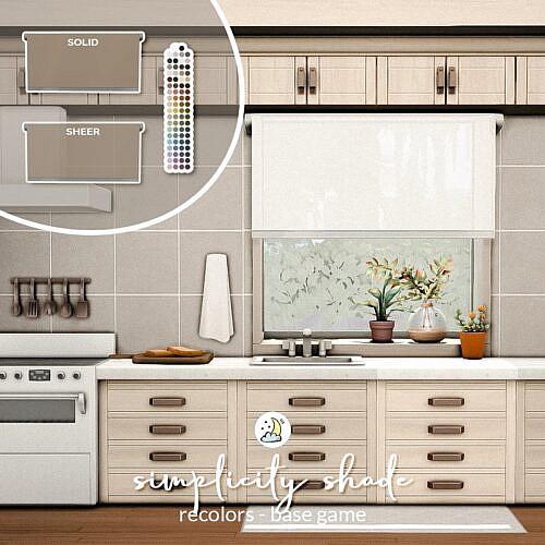 Simplicity Shades Sims 4
