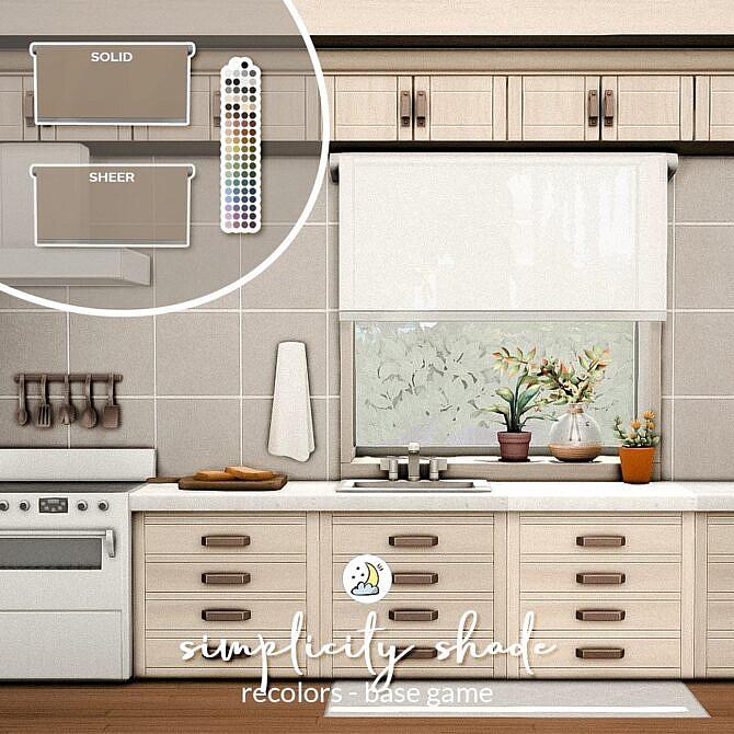 Sims 4 Simplicity Shades at Luna Sims