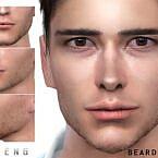 Sims 4 Beard N74 Seleng