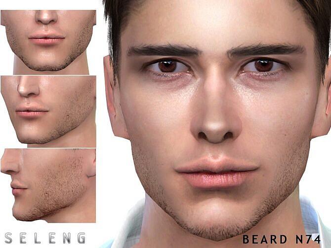 Sims 4 Beard N74 by Seleng at TSR
