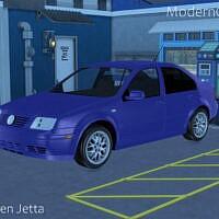 Sims 4 Car 2004 Volkswagen Jetta