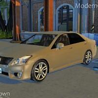 Sims 4 Car 2010 Toyota Crown