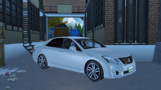 Sims 4 2010 Toyota Crown at Modern Crafter CC