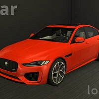 Sims 4 Car Jaguar Xe