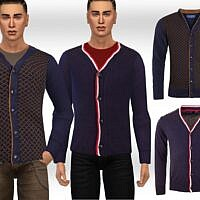 Sims 4 Cardigans For Males