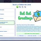 Sims 4 Career Greeting Card Retail Merchandiser