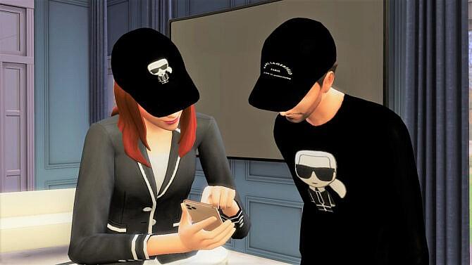 Sims 4 Clothes Cap Sweatshirt Tshirt