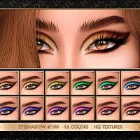 Sims 4 Eyeshadow 100