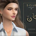 Sims 4 Earrings 202104 By S Club Wm