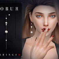 Sims 4 Earrings 36