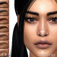 Sims 4 Eyebrows N107