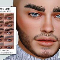 Sims 4 Eyebrows Nb19