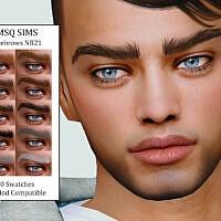 Sims 4 Eyebrows Nb21