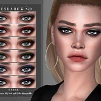Sims 4 Eyeshadow N29