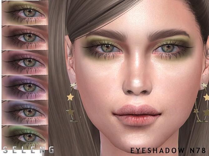 Sims 4 Eyeshadow N78 by Seleng at TSR