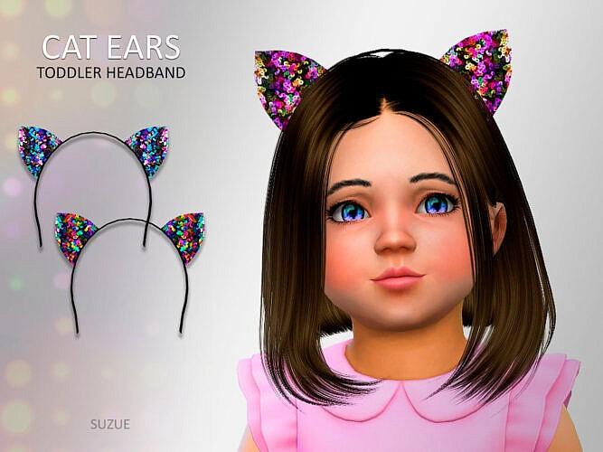 Sims 4 Headband Toddler Cat Ears