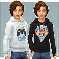 Sims 4 Hoodie For Boys P24