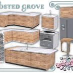 Sims 4 Kitchen Frosted Grove I