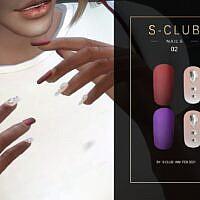 Sims 4 Nails 202102 S Club Wm