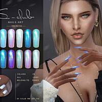 Sims 4 Nails Art 202103