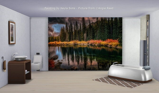 Sims 4 Paintings: A.R.Reed at Keyla Sims