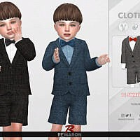 Sims 4 Suits For Toddler 01