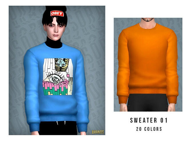 Sims 4 Sweater 01