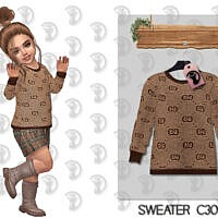 Sims 4 Sweater C309 By Turksimmer