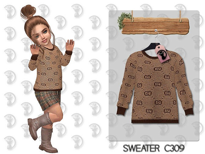 Sims 4 Sweater C309 by turksimmer at TSR
