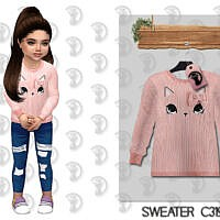 Sims 4 Sweater For Toddlers C319